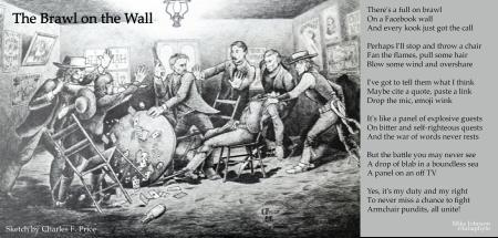 brawl on the wall